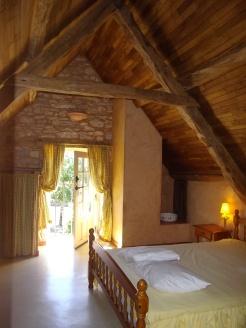 Chambre lit double 1er étage