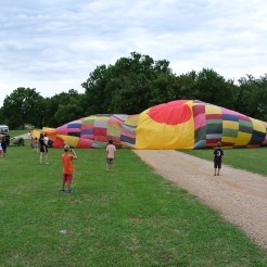 Envole de montgolfière 07.2013