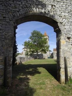 Vestige porte rempart